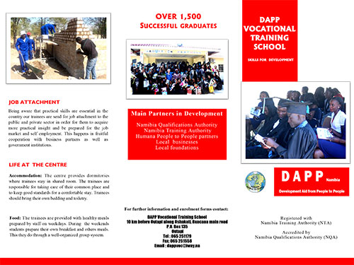 DAPP Vocational Training School PDF 1